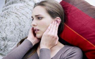 Заложенность ушей при простуде, что с этим делать