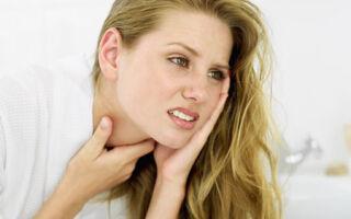 Почему больно глотать: боль с левой стороны