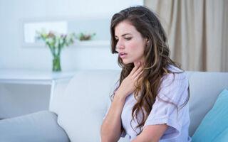 Удушье в области горла и шеи: диагностика, причины, лечение, профилактика
