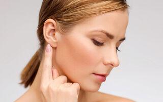 Воспалительный процесс в лимфатическом узле за ухом (лимфаденит)