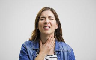 Дерет горло: причины и лечение симптома