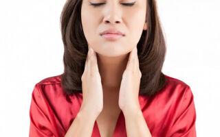 Боль в горле и воспаленные лимфоузлы: возможные заболевания и методы лечения