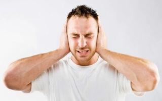 Звенящий шум в ушах. От чего появляется и как лечить.