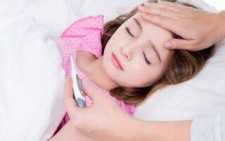 Фарингит в детском возрасте