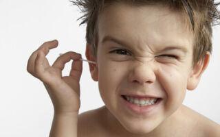 Что делать если у ребенка образовалась серная пробка