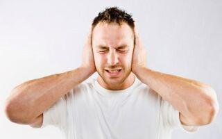 Проявление шумовых ощущений в голове и ушах