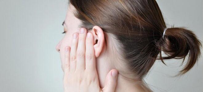 Какие капли использовать при болевых ощущениях в ухе