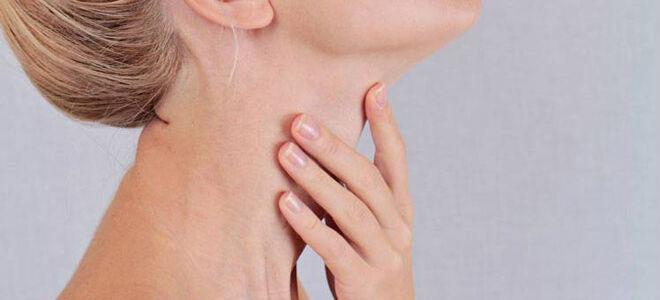 Почему чешется горло и как избавиться от этого состояния?