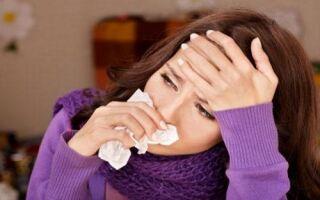 Болевые ощущения в ушах во время простуды