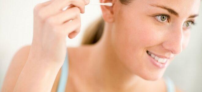 Как правильно почистить уши в домашних условиях