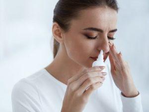 заложенность носовой пазухи