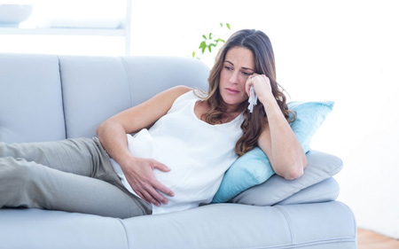 Боль в горле во втором триместре беременности