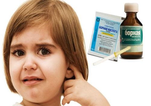 Борная кислота для детей