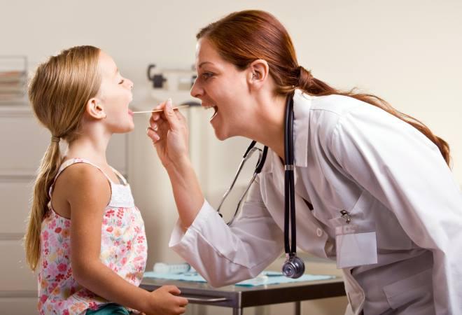 Диагностика ангины у ребенка