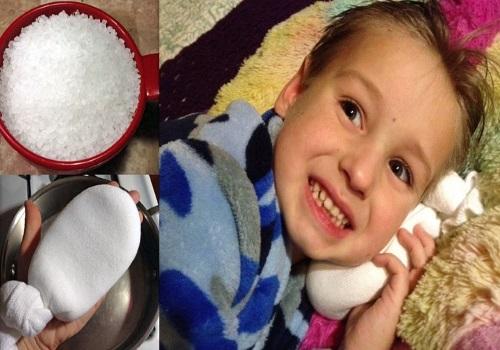 Использование горячей соли