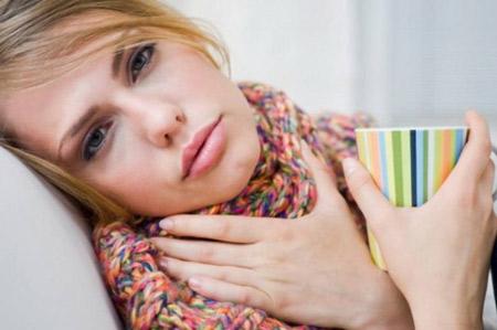 Лечение горла в первом триместре