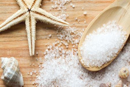 Морская соль против мокроты