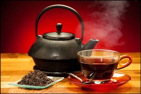 Не сладкий черный чай