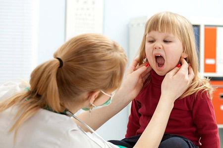 Паратонзиллярный абсцесс у детей