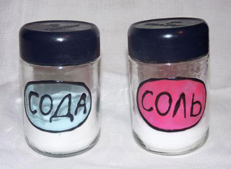 Польза соли и соды