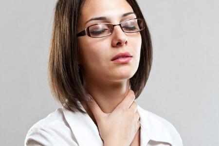 Рак горла у женщин