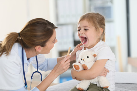 Распространенность болезней горла