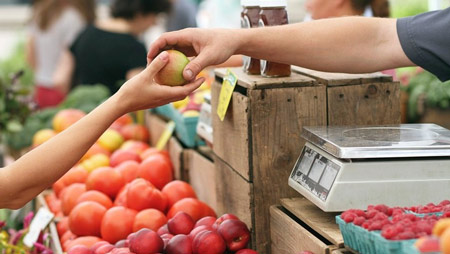 Употребление немытых продуктов