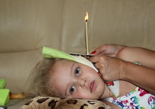 Ушная свеча для ребенка