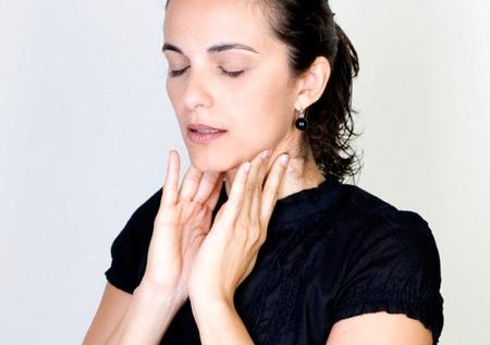 Увеличение лимфатических узлов шеи