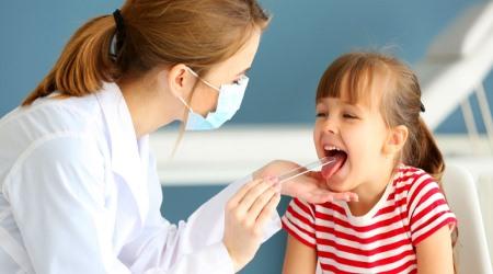 Воспаление аденоидов у детей