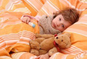 Возникновение ангины у ребенка
