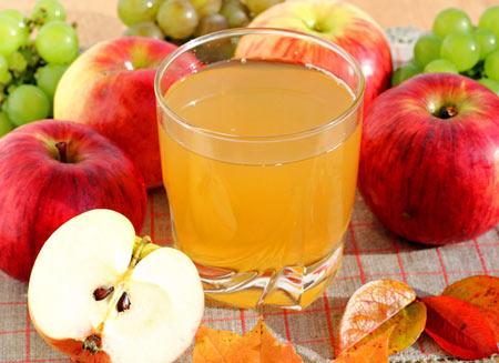 Яблочный сок с чесноком